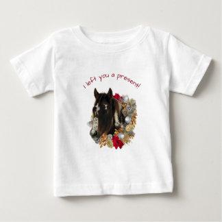 Brayleyのメリークリスマスのジングルベルのワイシャツ ベビーTシャツ