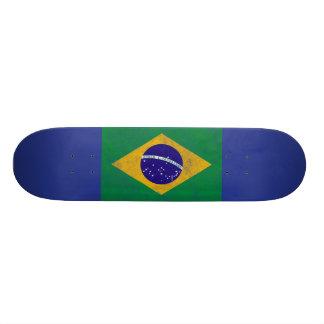 Brazileのヴィンテージの旗のスケートボード 21.6cm オールドスクールスケートボードデッキ