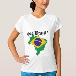 Brazillianの女性のTシャツ(得られたブラジル) Tシャツ
