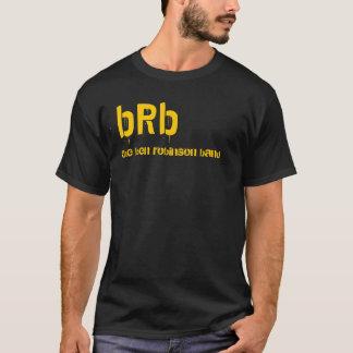brbのステンシル tシャツ