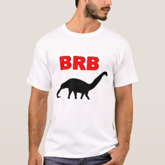 BRBの恐竜 Tシャツ