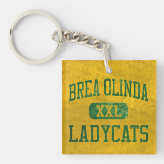 Brea Olinda Ladycatsの運動競技 キーホルダー