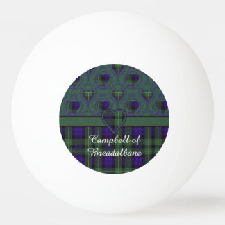 Breadalbaneの格子縞のスコットランド人のタータンチェックのキャンベル 卓球ボール