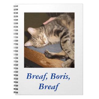 Breaf、ボリスのBreafのノート ノートブック