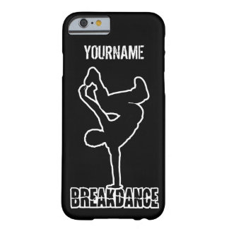 Breakdanceの習慣のケース Barely There iPhone 6 ケース