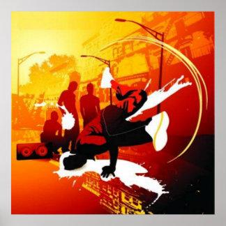 Breakdanceポスター ポスター