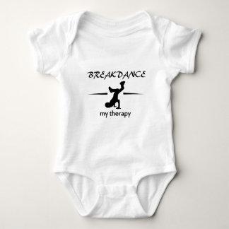 Breakdance私のセラピー ベビーボディスーツ