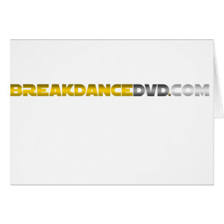 Breakdance DVDの標準のロゴ カード