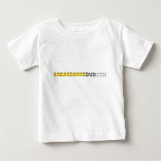 Breakdance DVDの標準のロゴ ベビーTシャツ