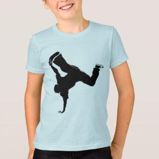 breakdancerのデザイン tシャツ