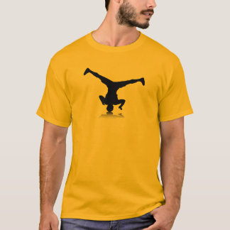 Breakdancer (回転) tシャツ