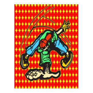 Breakdancingのスタイル ポストカード
