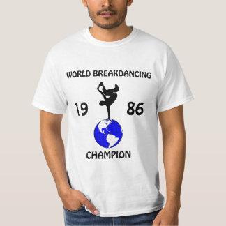 Breakdancingのチャンピオン Tシャツ