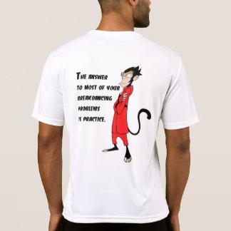 Breakdancingの訓練 Tシャツ