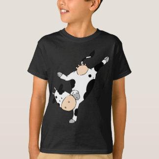 Breakdancing牛(mooviestars) Tシャツ