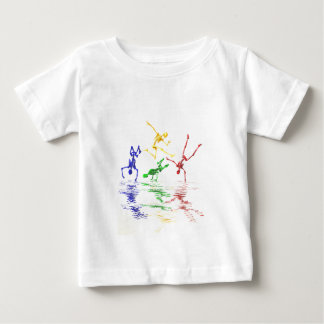 breakdancing骨組 ベビーTシャツ