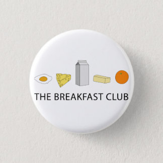 Breakfast Club 3.2cm 丸型バッジ