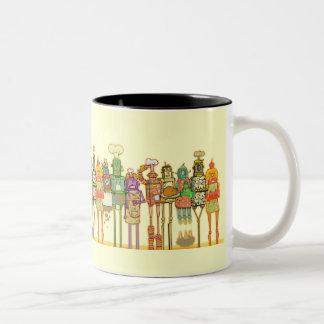 breakfeastの時間 ツートーンマグカップ