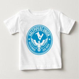 BreckのHalfpipers連合淡青色 ベビーTシャツ