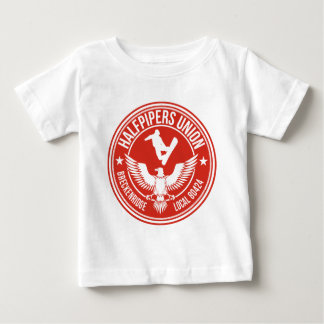 BreckのHalfpipers連合赤 ベビーTシャツ