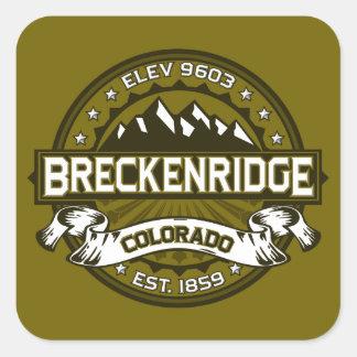 Breckenridgeのオリーブ スクエアシール