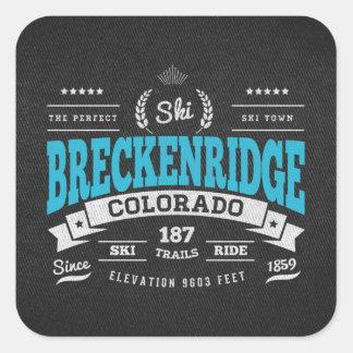 Breckenridgeのヴィンテージのミント スクエアシール