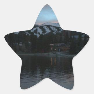 breckenridgeの日没 星シール