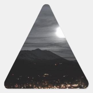 breckenridgeの満月 三角形シール