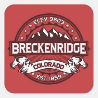 Breckenridgeの赤 スクエアシール