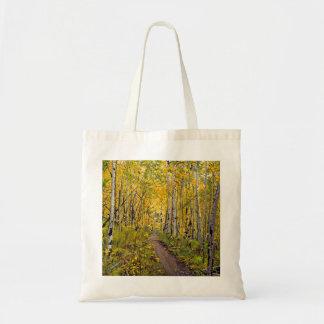 Breckenridgeの道の油絵へのKenosha トートバッグ