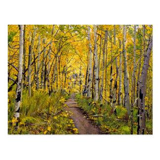 Breckenridgeの道の油絵へのKenosha ポストカード