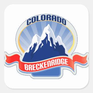 Breckenridgeコロラド州 スクエアシール