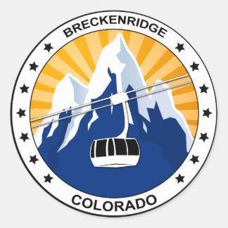 Breckenridgeコロラド州 ラウンドシール