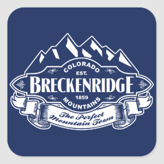 Breckenridge山の紋章の銀 スクエアシール