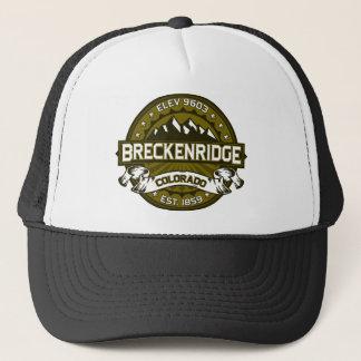 Breckenridge新しい都市オリーブ キャップ