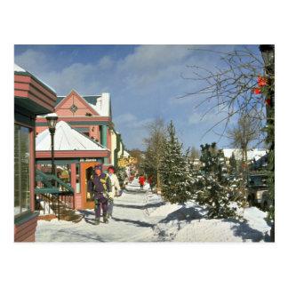 Breckenridge、コロラド州、米国の冬 ポストカード
