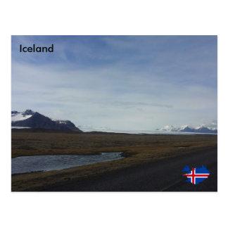 Breiðamerkurjökull、アイスランドBreidamerkurjokull ポストカード