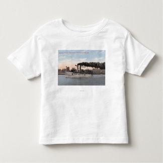 Bremertonのために去るケネディの蒸気船 トドラーTシャツ