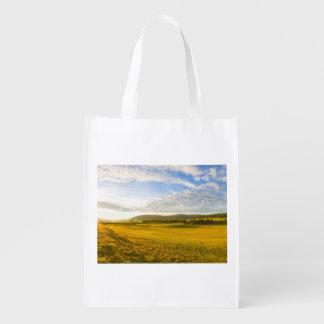 BrevineのLanscape、ヌーシャル、スイス連邦共和国 エコバッグ
