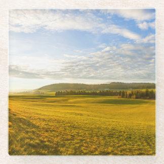 BrevineのLanscape、ヌーシャル、スイス連邦共和国 ガラスコースター