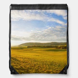 BrevineのLanscape、ヌーシャル、スイス連邦共和国 ナップサック