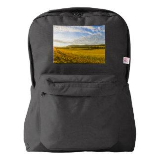 BrevineのLanscape、ヌーシャル、スイス連邦共和国 American Apparel™バックパック
