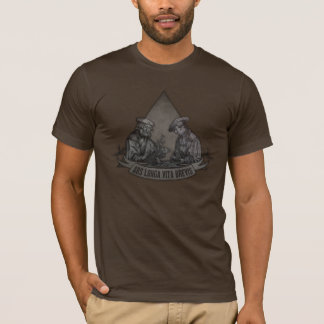 Brevis Ars Longa Vita Tシャツ