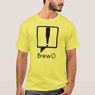 Brew.0輪郭のロゴ Tシャツ