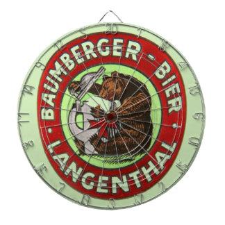 Brewerie Baumberger Langenthal, die Schweiz ダーツボード