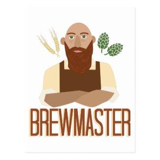 Brewmaster ポストカード