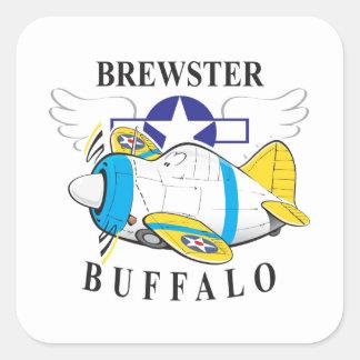 brewsterの水牛 スクエアシール