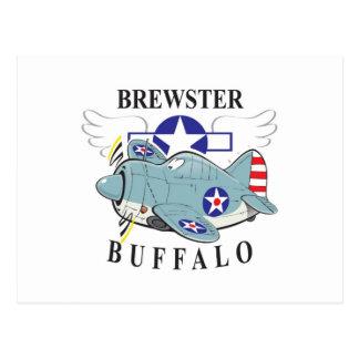 brewsterの水牛 ポストカード