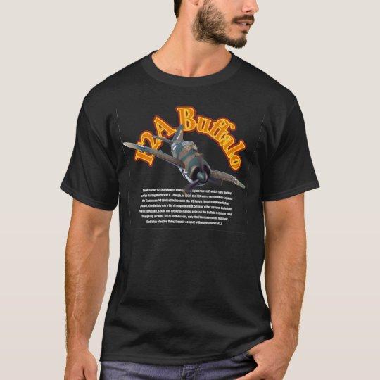 """Brewster F2A Buffalo"" T-shirt Tシャツ"