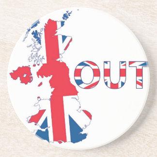 BREXITの英国国旗 コースター